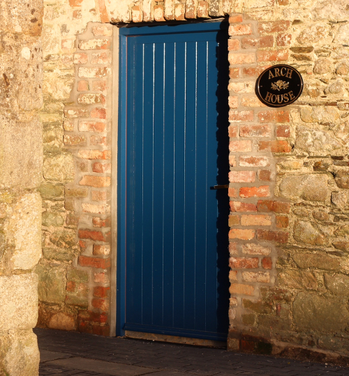 The Arch House Door